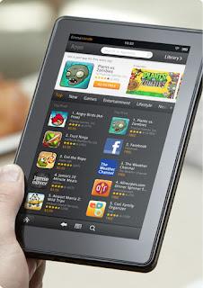 Kindle Fire, la tableta con Android más vendida
