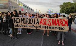 Marcha por #JusticiaParaRaquel