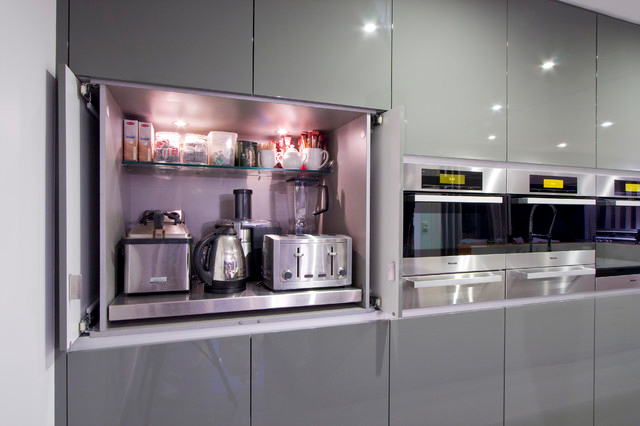 Appliance Garage Counter Top : Simplifying remodeling the best places to stash small