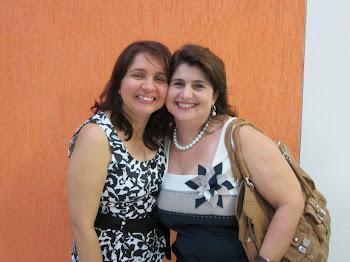 ANA PAULA E A PROFESSORA ISABEL