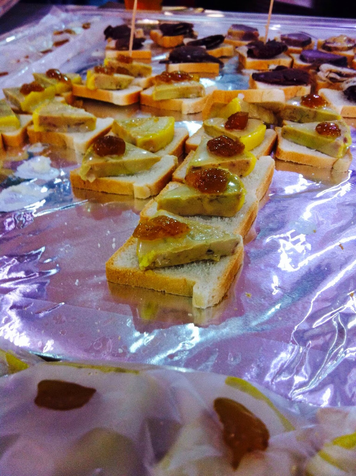 Three delicious food drink products you 39 d never guess for Foie gras canape