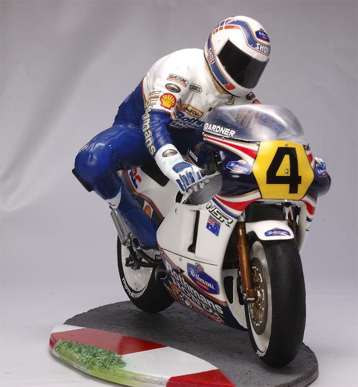 Racing Scale Models Diorama Wayne Gardner Amp Honda Nsr