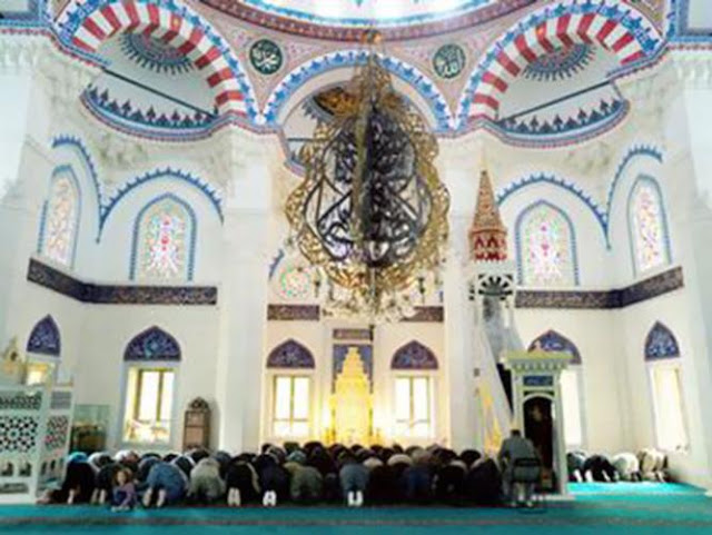 مسجد سيتليك في برلين, أكبر مساجد برلين, ألمانيا,