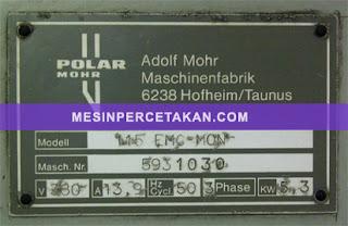 POLAR 115 EMC Monitor specification