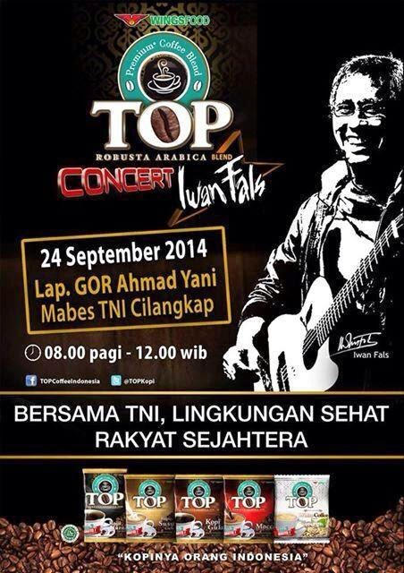 TOP Concert With Iwan Fals