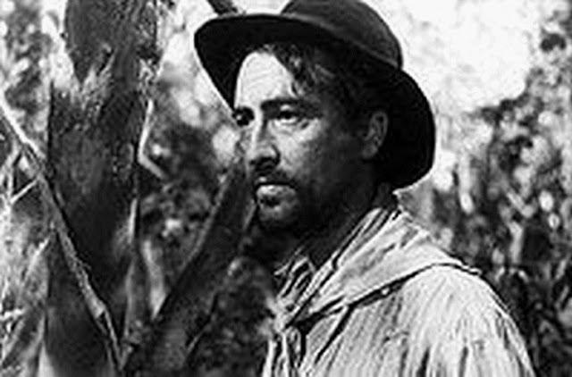 Hugo del Carril con sombrero negro