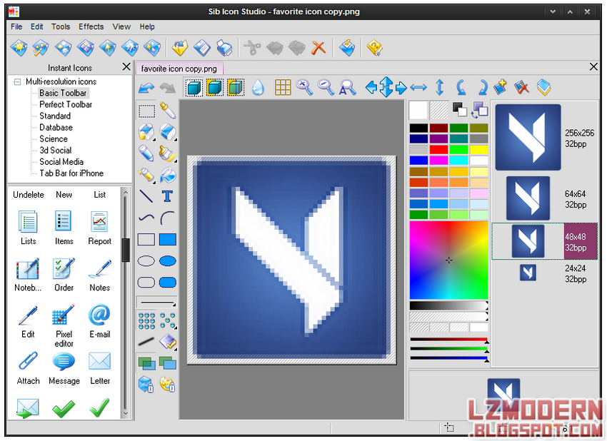 Sib Icon Studio v4.0.1 Full Version - lzmodern.blogspot.com