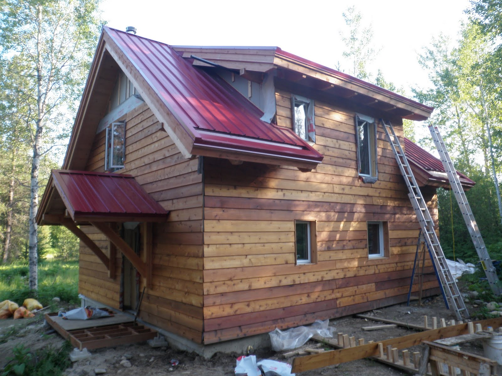 Kootenay house siding for Icf houses pros and cons