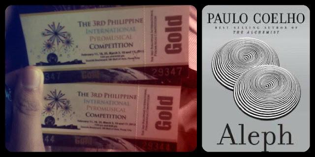 2012, Life, Happiness, Aleph, Paulo Coelho, Pyro olympics