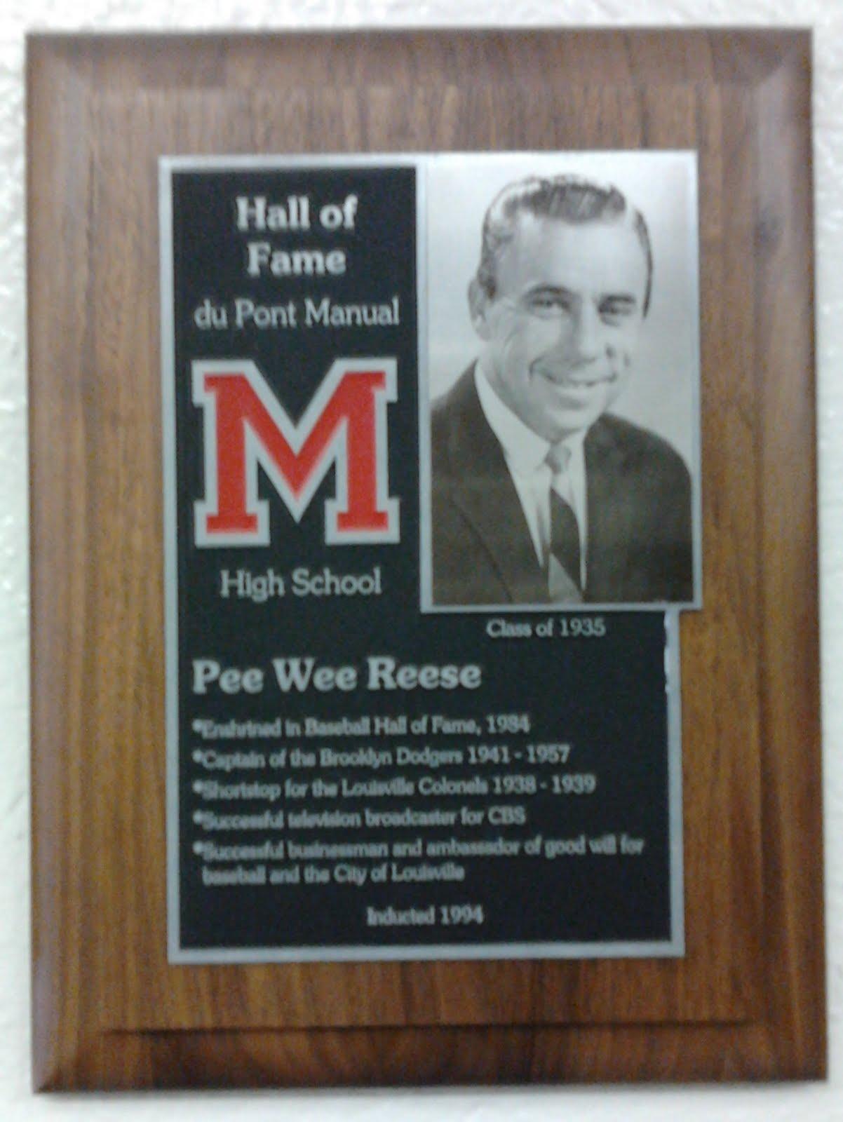 Harold Henry Pee Wee Reese 1918