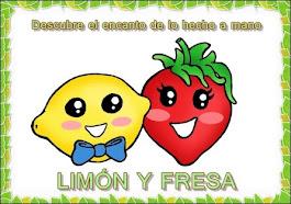 LIMÓN Y FRESA