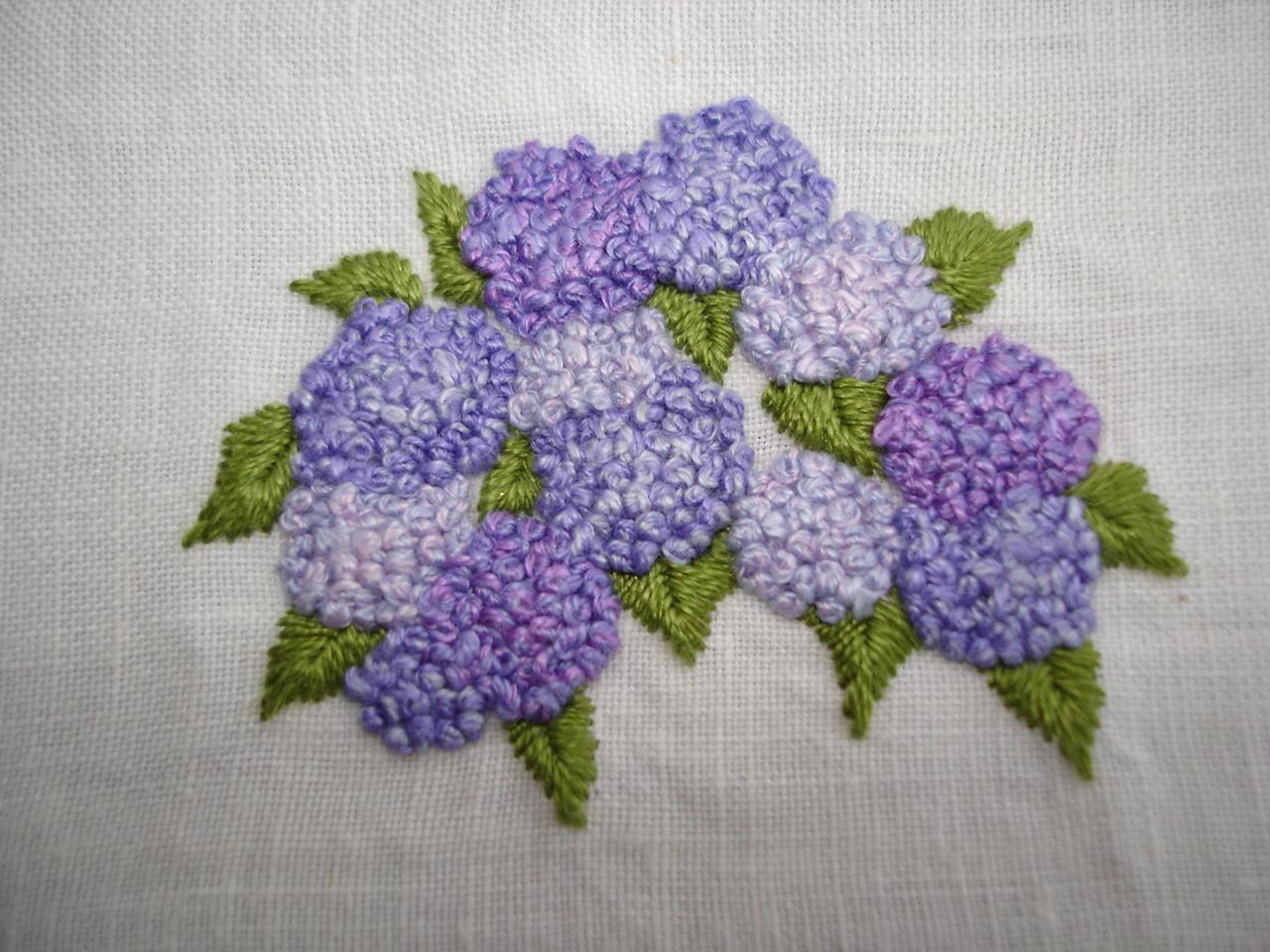 Creatief gerief tuinbloemen borduren
