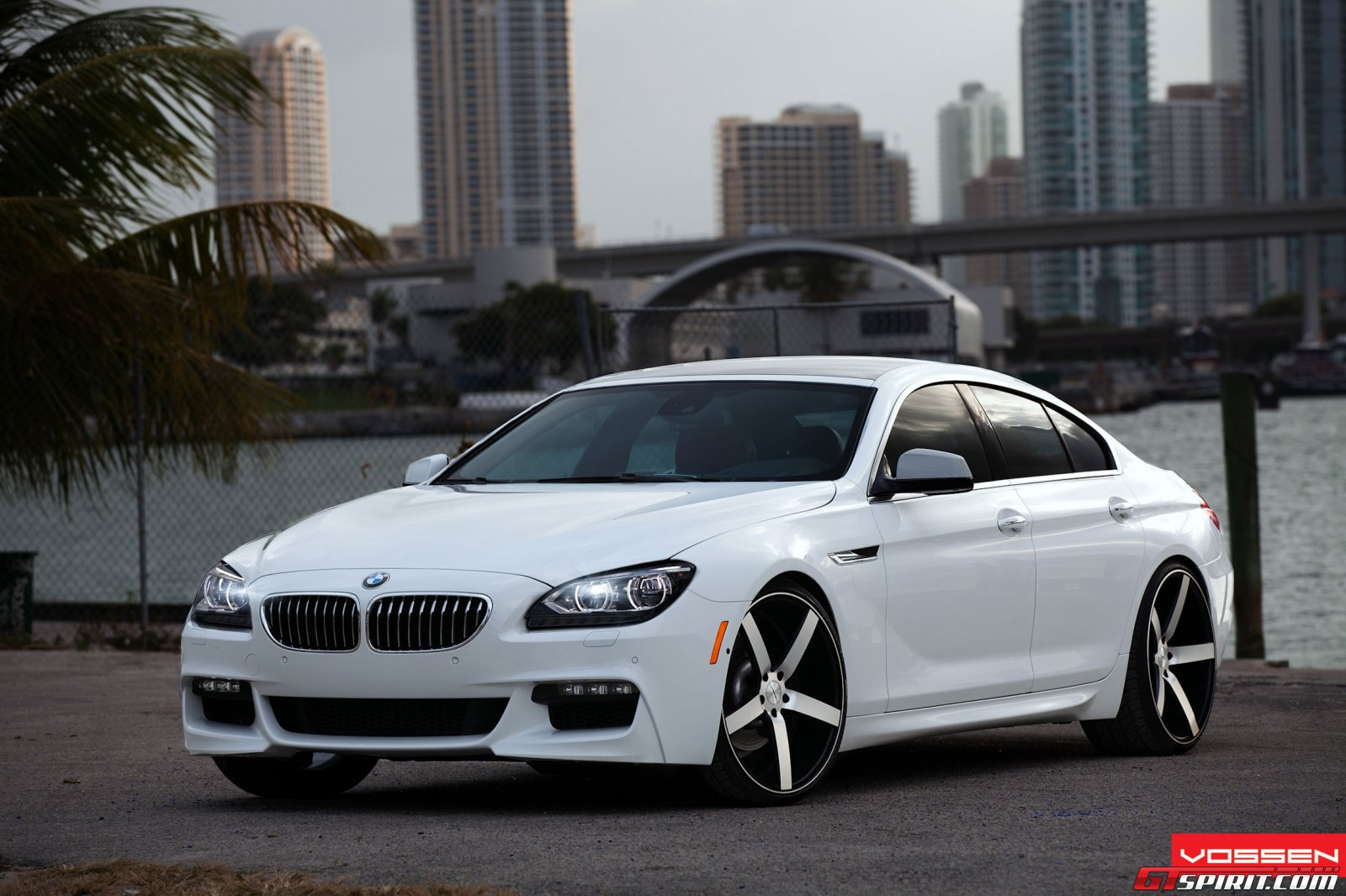 new car spirit 2012 bmw 6 series gran coupe with vossen wheels. Black Bedroom Furniture Sets. Home Design Ideas