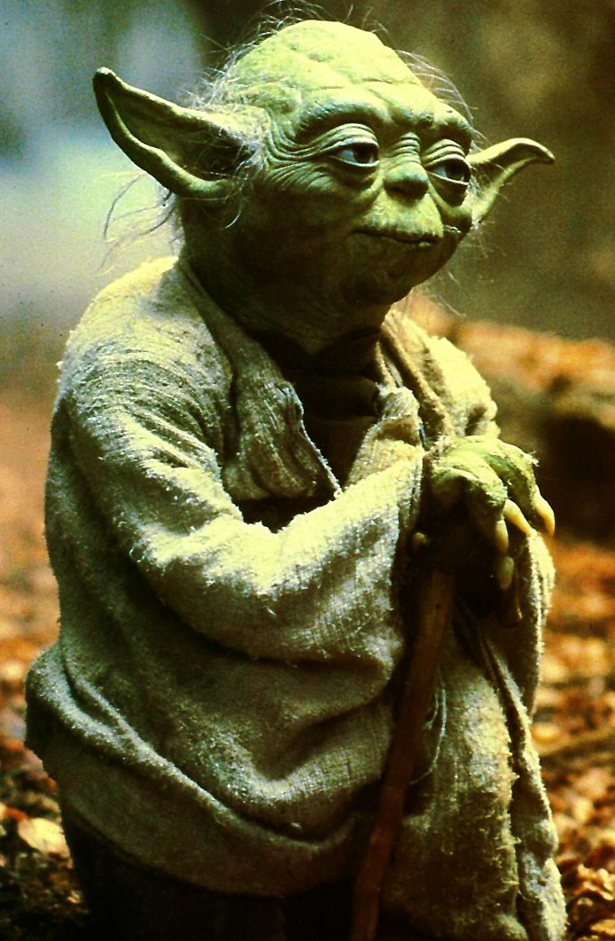 Yoda Meditating Original Star Wars High Def