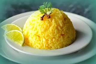 Arroz al parmesano con limón
