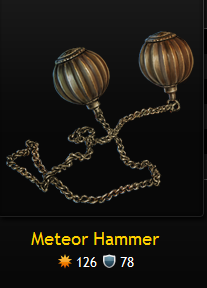 how to make a meteor hammer