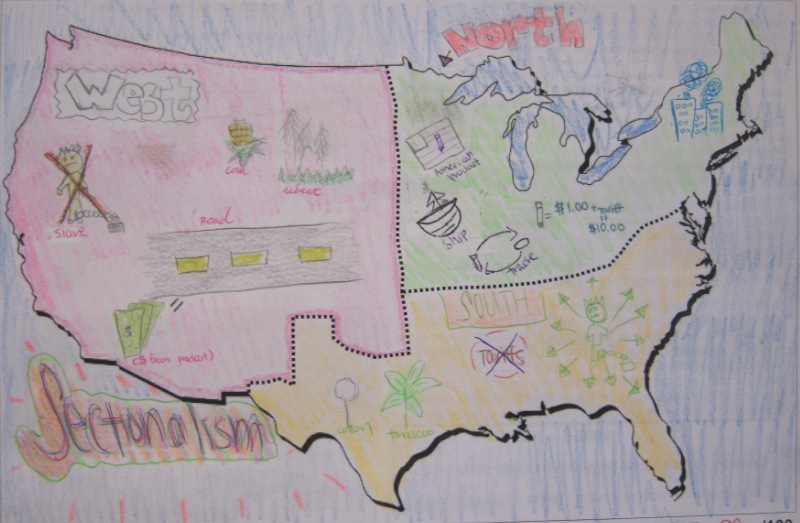 sectionalism american history High school american history and economics help supreme court case summaries.