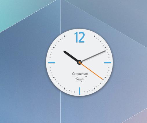 Reloj de KDE5