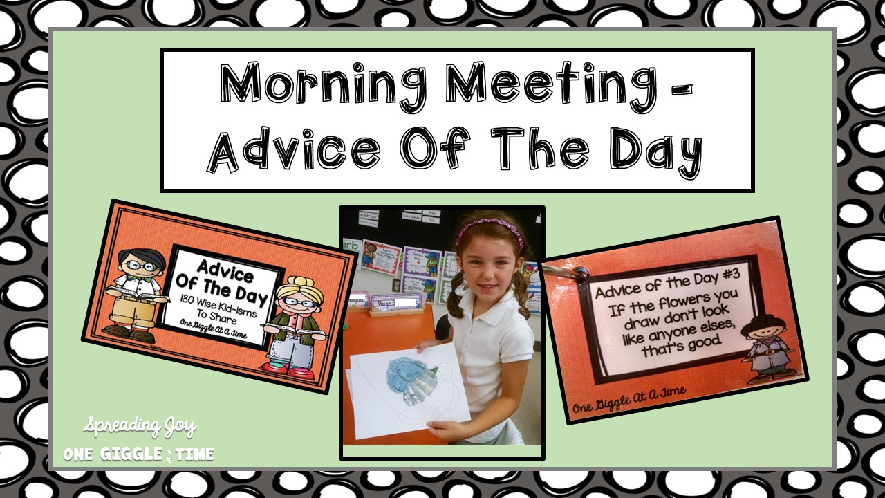 Morning Meeting Greeting Ideas Ratepersonally