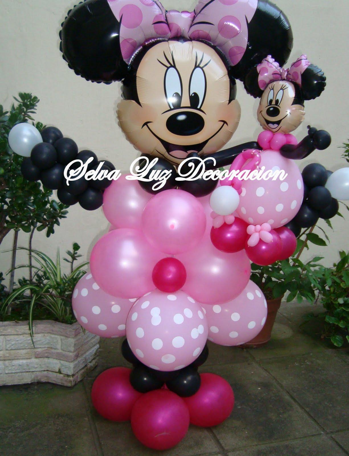 Minnie mouse de globos imagui for Decoracion minnie mouse