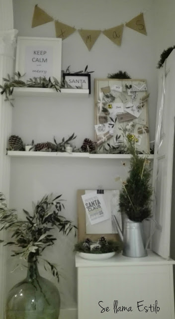 Reto SMALL & LOW COST: My xmas corner