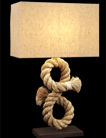 unique rope table lamp