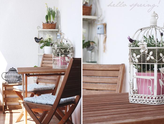 Puppenzimmer ): aufgehübscht: unser balkon
