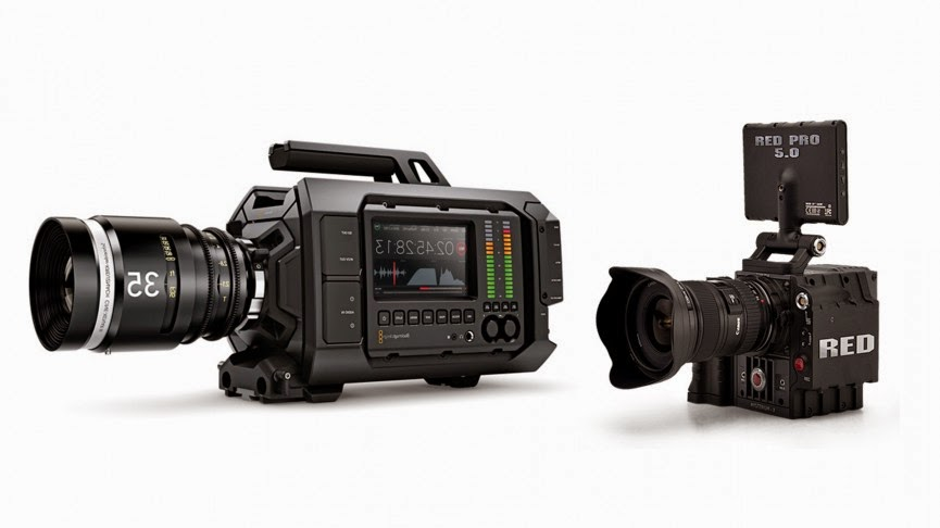 Blackmagic URSA vs. Red Scarlet