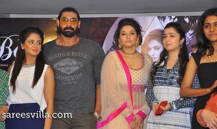 Rana Daggubati, Charmi, Ragini Dwivedi, and Parul Yadav