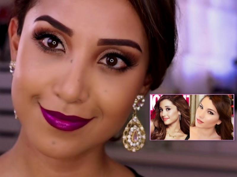 Celebrity's Makeup Tutorial: Demi Lovato And Ariana Grande