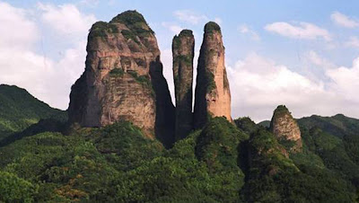 (China Danxia) - Mount Jianglang in Zhejiang