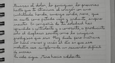 poema escrito a mano en letra cursiva