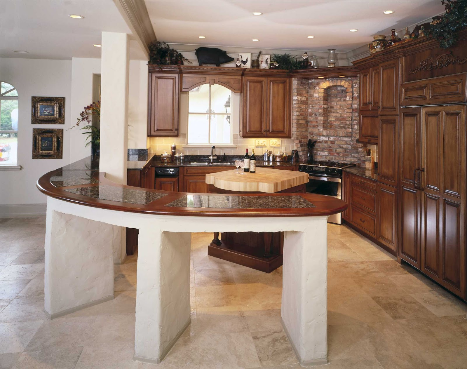 Cu l es la cocina ideal seg n una investigaci n for Mezclar muebles claros y oscuros