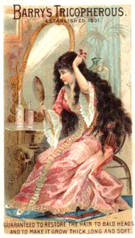 Victorian beauty advertisement