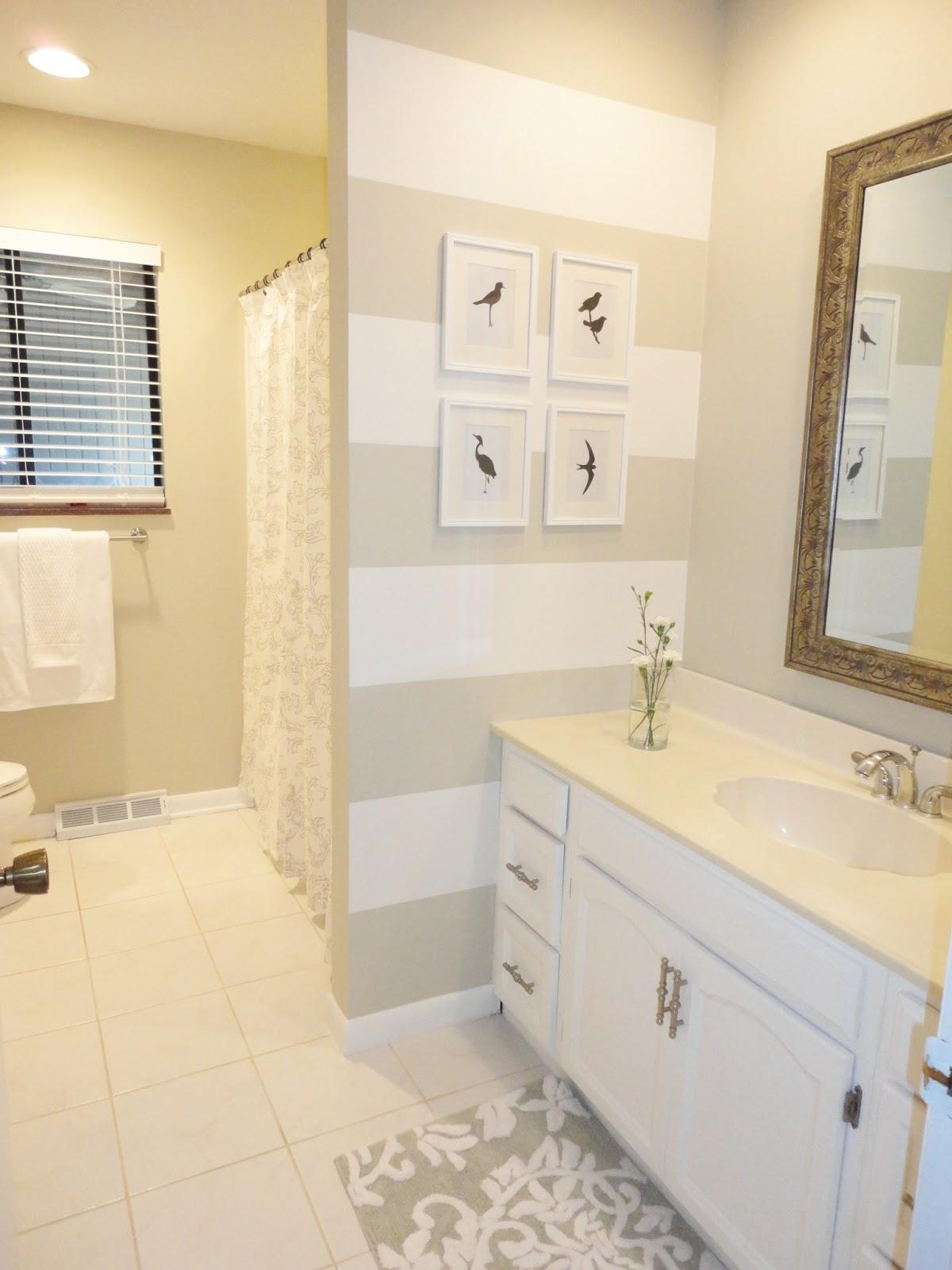 LiveLoveDIY: Our Guest Bathroom Makeover