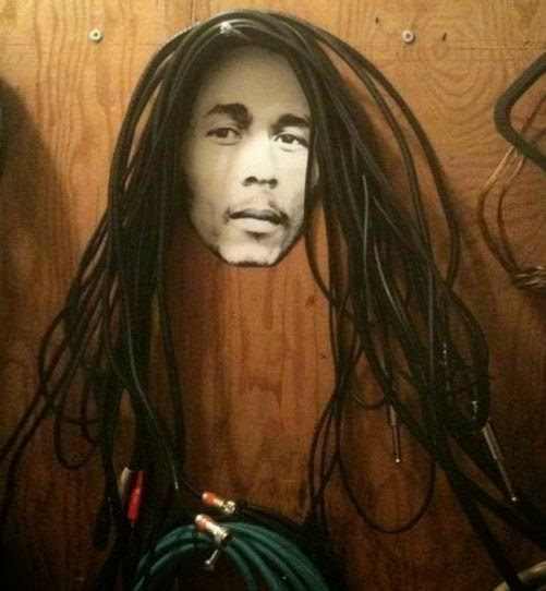DIY Funny cable holder