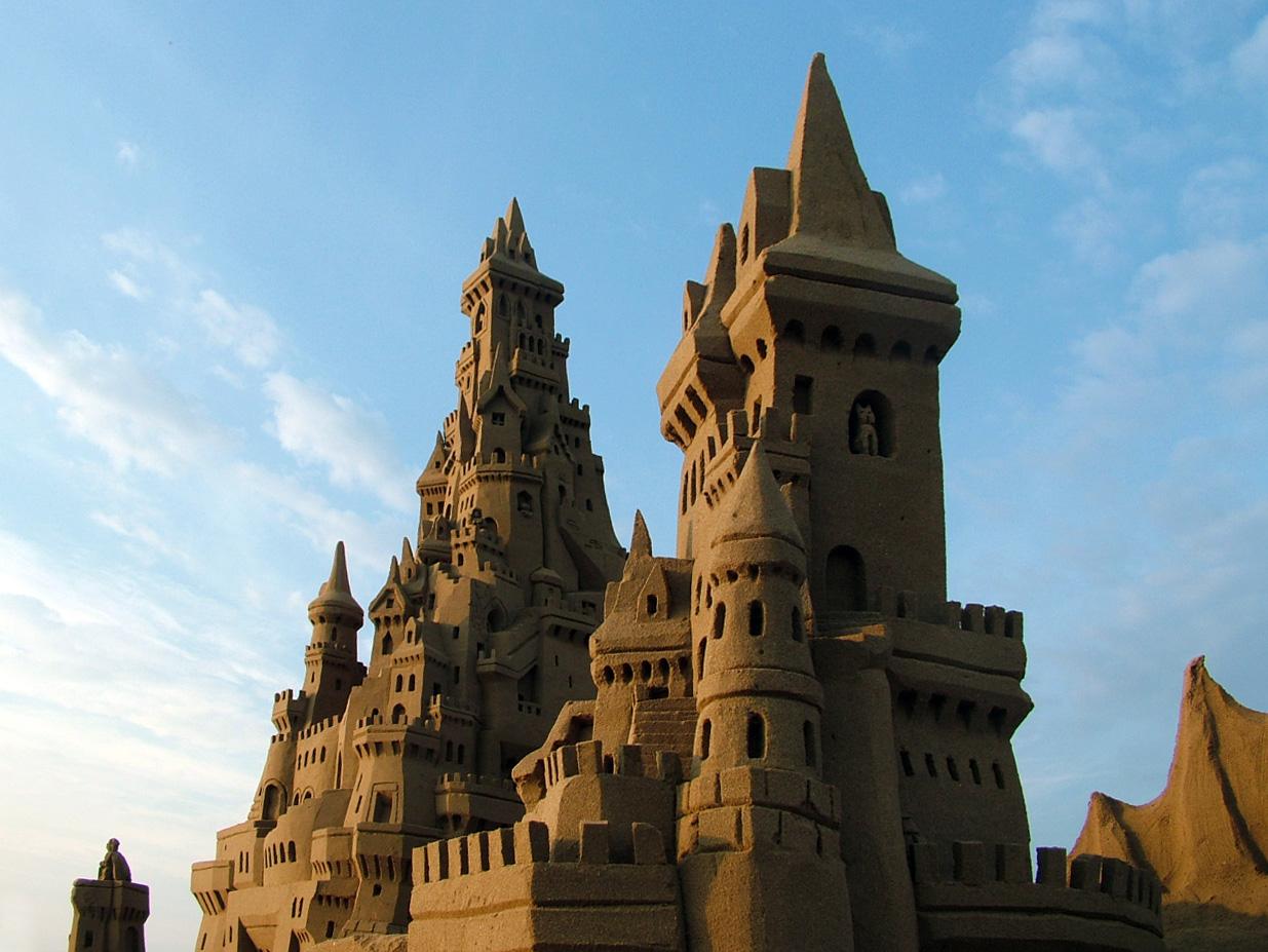 Sabbia la fisica dei castelli di sabbia for Setacciavano la sabbia dei fiumi
