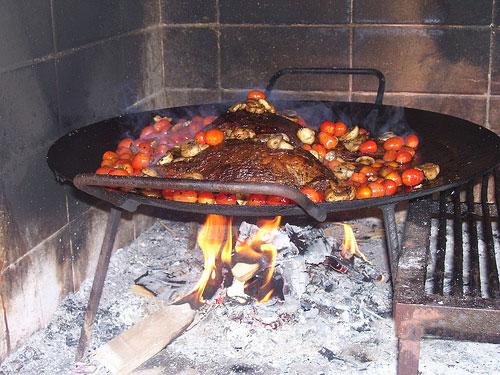 cocina asado negro: