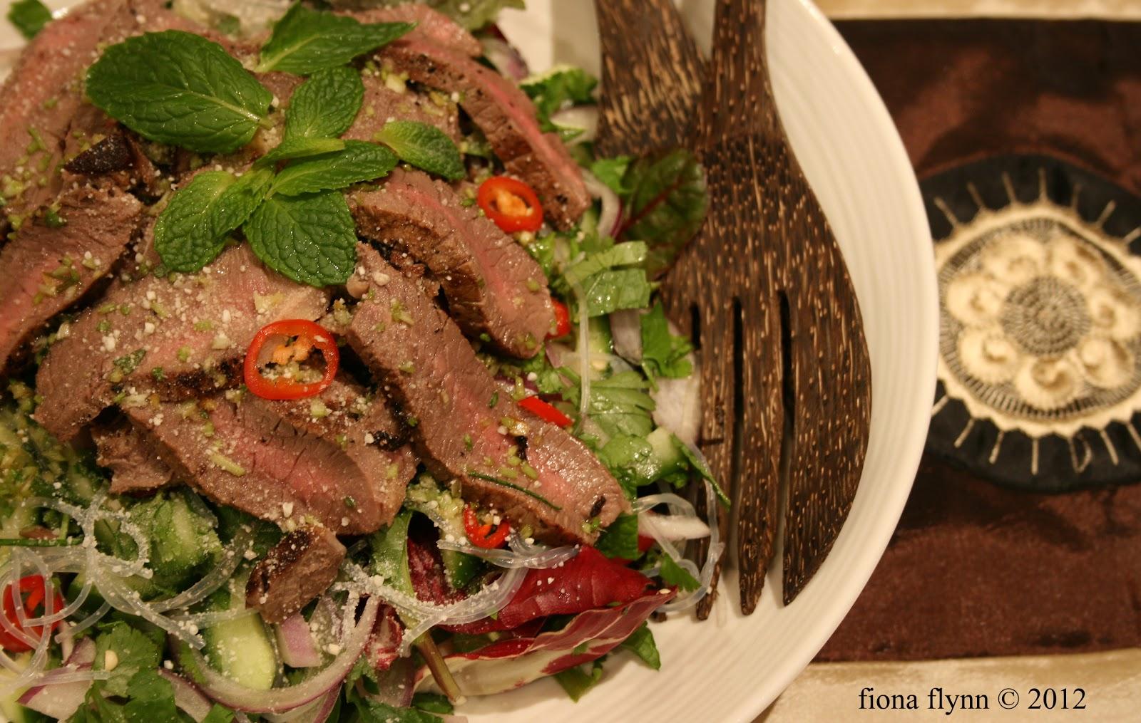 salad yam som o hot thai beef salad recipe sbs food thai beef salad ...