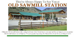 Welcome to Old Sawmill Station