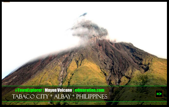 Mayon Volcano up close