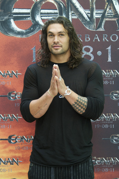 Hot Jason Momoa Attends 'Conan The Barbarian' Photocall In Madrid 2011