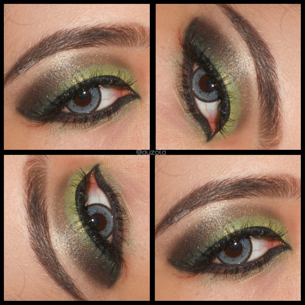 Rainbowdorable By Auzola Indonesian Beauty Blogger Eotd Green