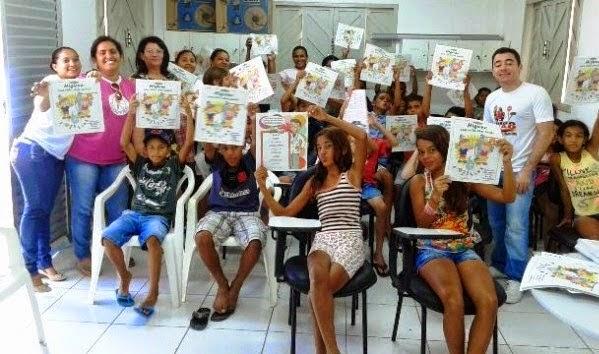 DENTISTAS REALIZAM ATIVIDADES EDUCATIVAS COM CRIANÇAS DA REDE MUNICIPAL.