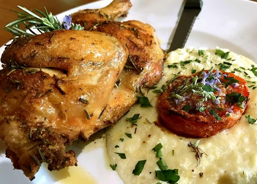 Chicken & Polenta
