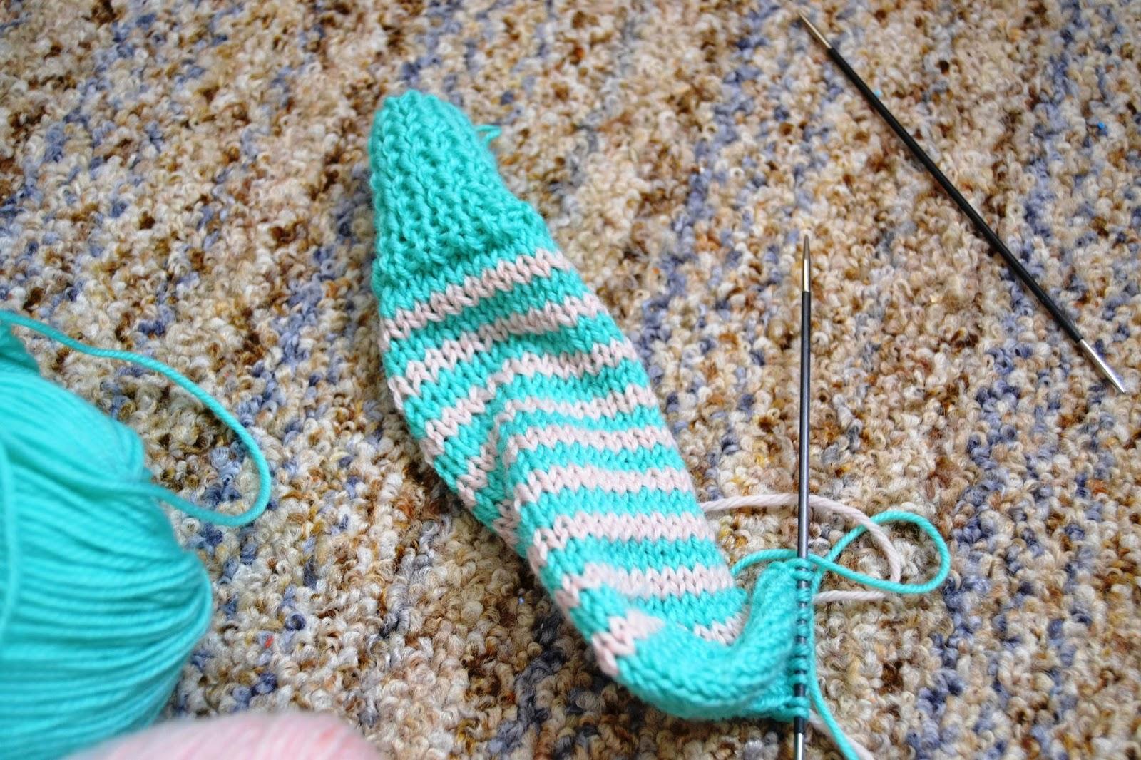 Супер быстрые носки - Вязание - Страна Мам 80
