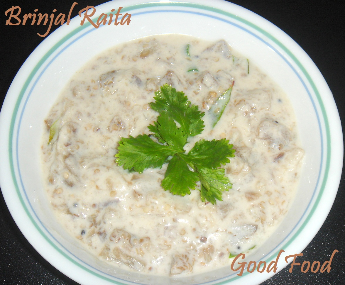 Good Food: Brinjal Raita