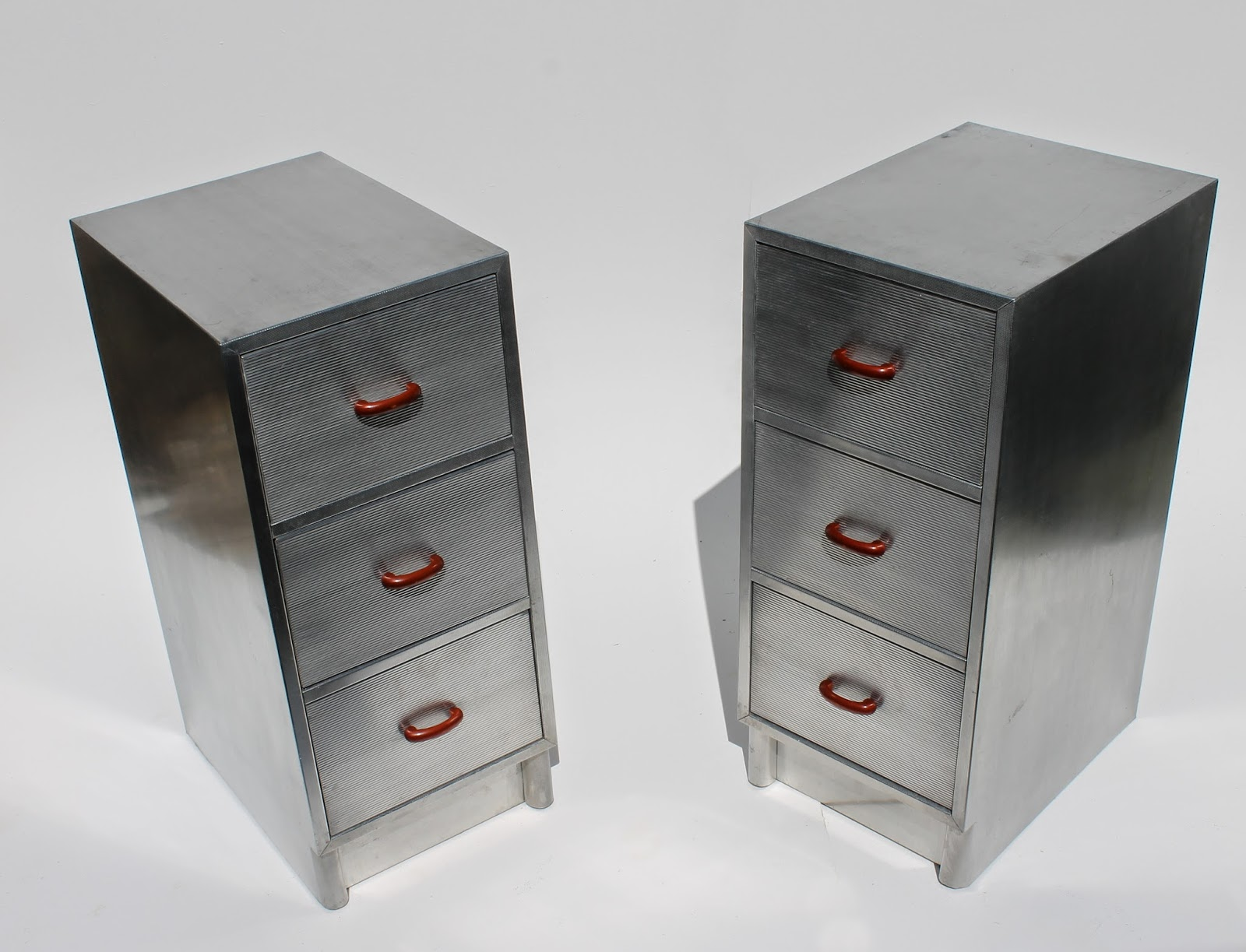 Industrial Aluminium Deco Style Dressing Table By PB Cow