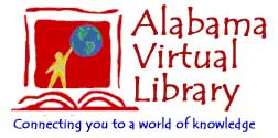 Alabama Virtual Library Logo. Connecting you to a world of knowledge.