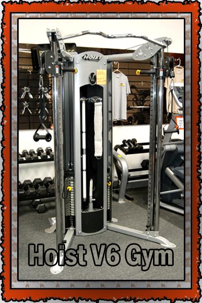 Coast Used Fitness Center Hoist V6 Home Gym